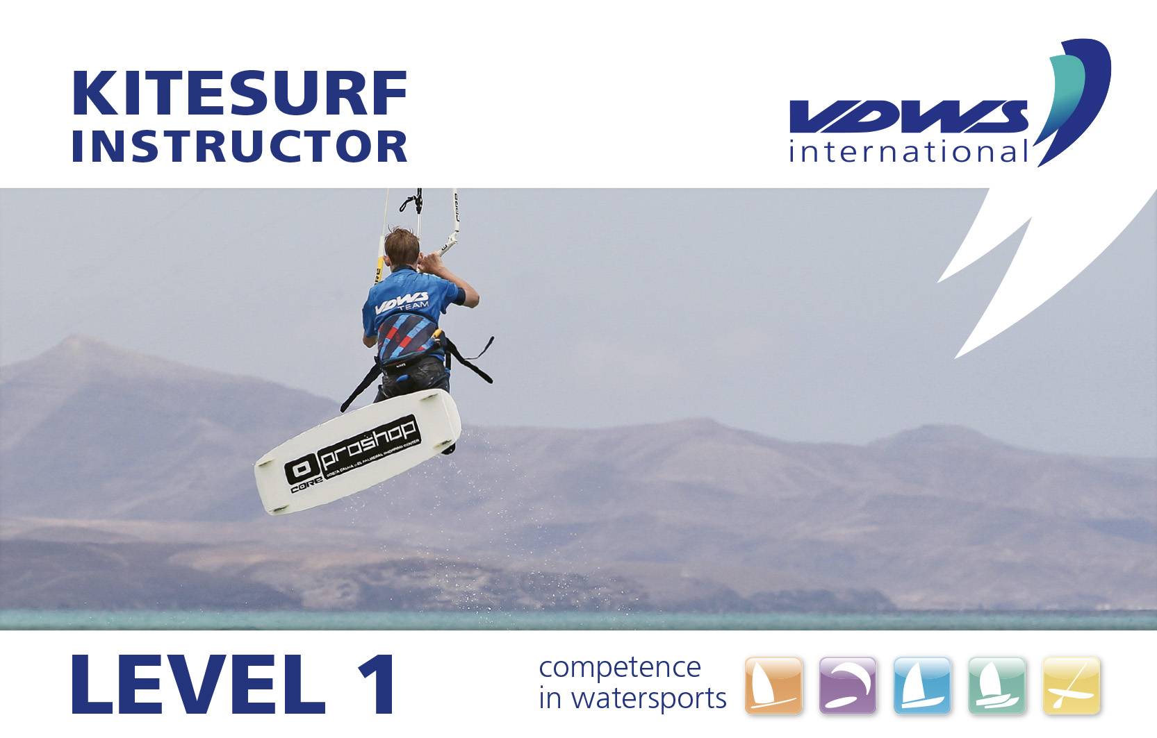 Level 1 Kitesurf Instructor Ausbildung - VDWS